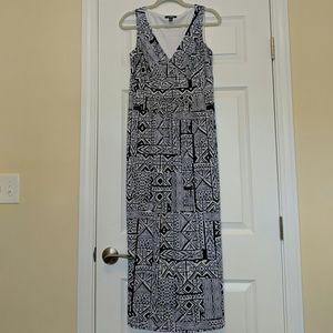 Chaps Blue Maxi Dress Medium
